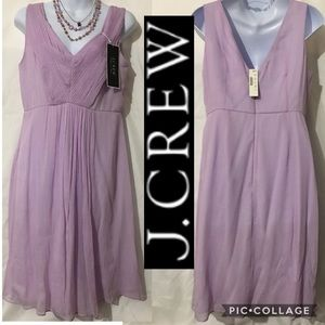 J CREW SLEEVELESS LAVANDER WEDDING & PARTY DRESS